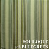 Ткань портьерная артикул SOLILOQUE col. BLUEGREEN